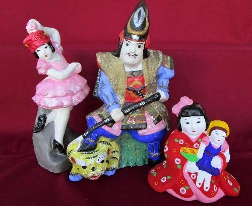 鵜渡河原人形画像